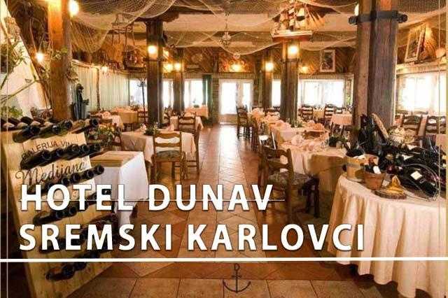 Hotel Dunav Sremski Karlovci Doček Nove godine