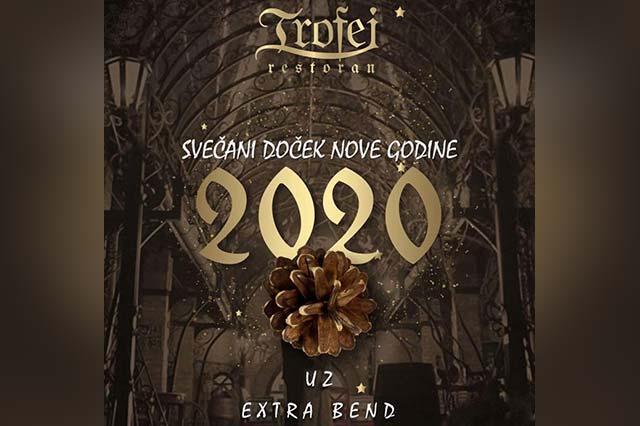 Restoran Trofej Doček Nove godine