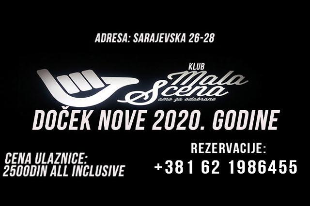Klub Mala Scena Doček Nove godine