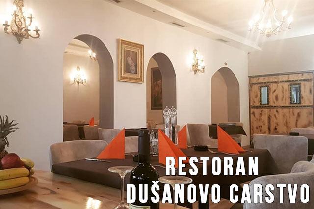 Restoran Dušanovo Carstvo Doček Nove godine