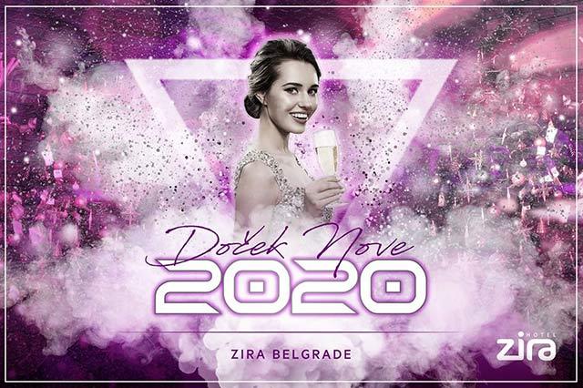 Hotel Zira Doček Nove godine