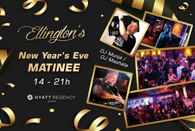 Klub Ellington's Bar Doček Nove godine Matinee