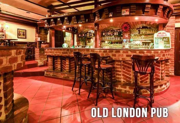 Old London Pub Doček Nove godine