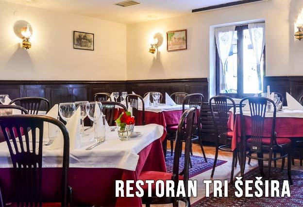 Restoran Tri Šešira Doček Nove godine