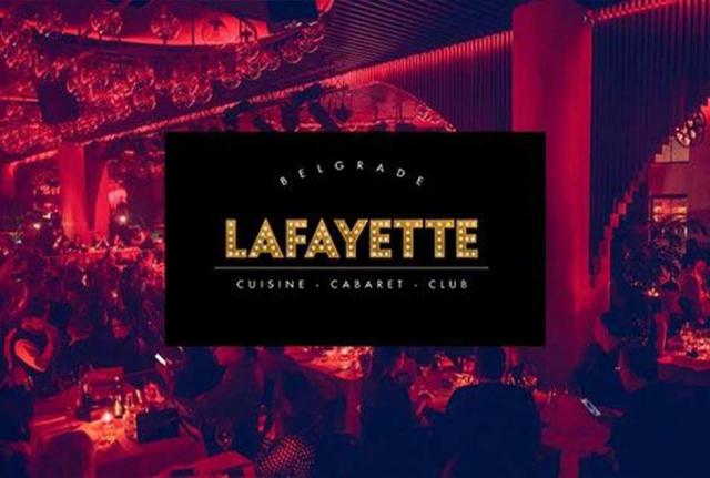 Restoran Lafayette matinee doček Nove godine