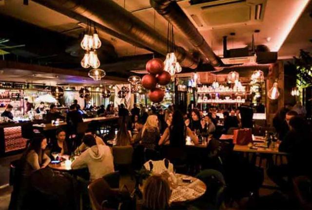 Restoran Boutique matinee doček Nove godine