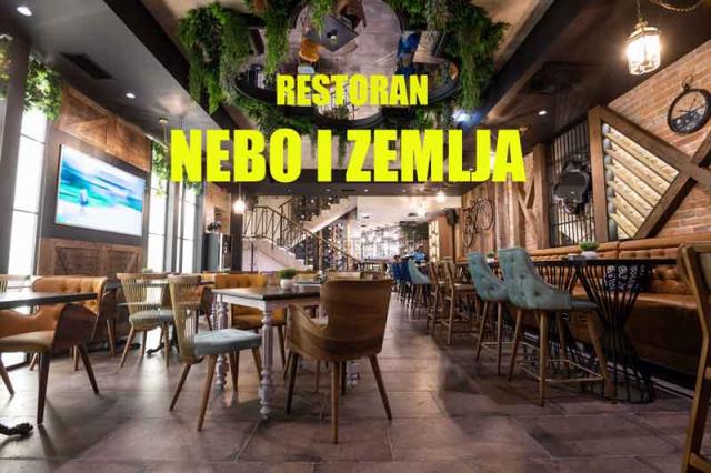 Restoran Nebo i zemlja doček Nove godine